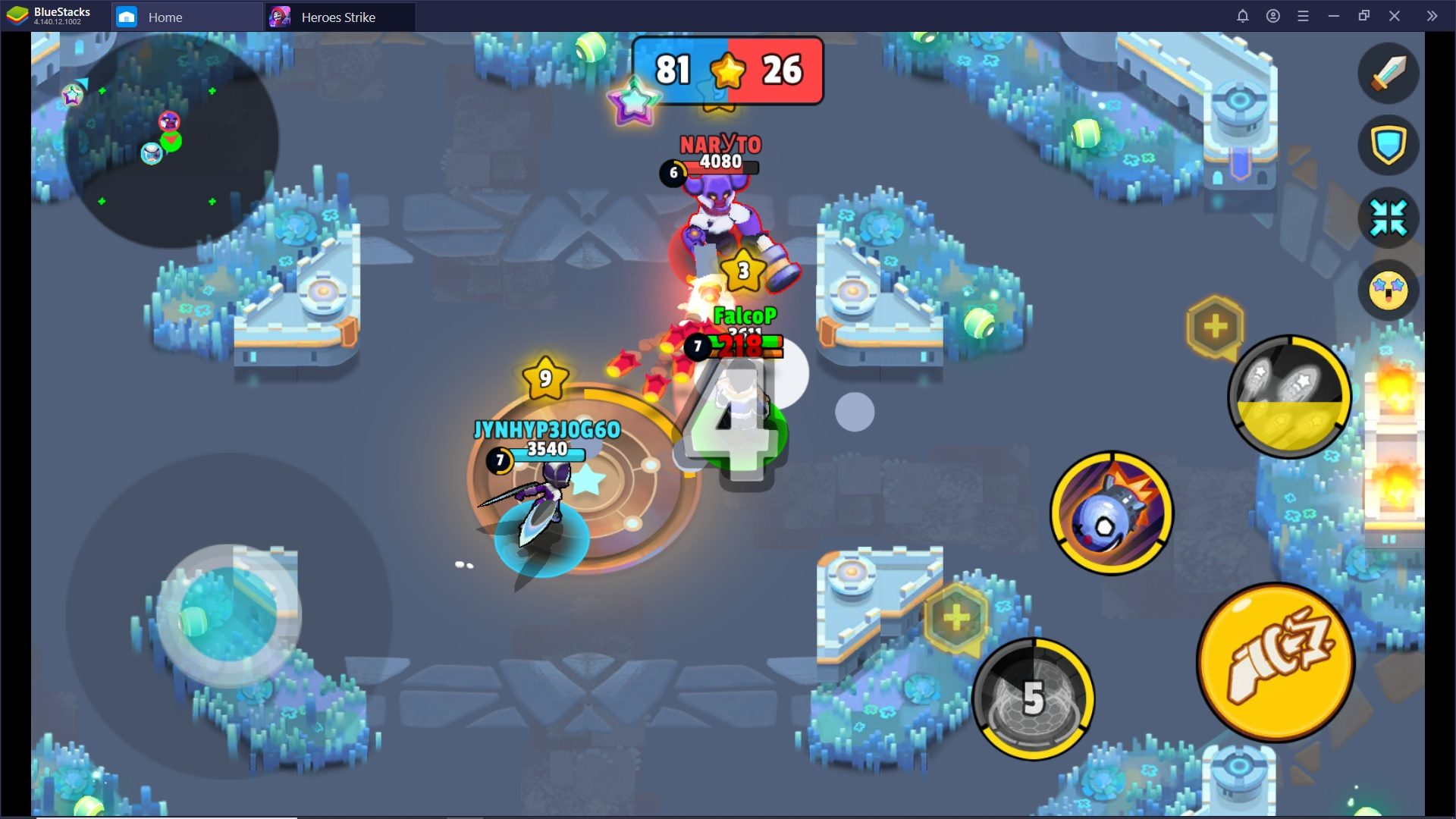 Come affrontare le modalità di Heroes Strike