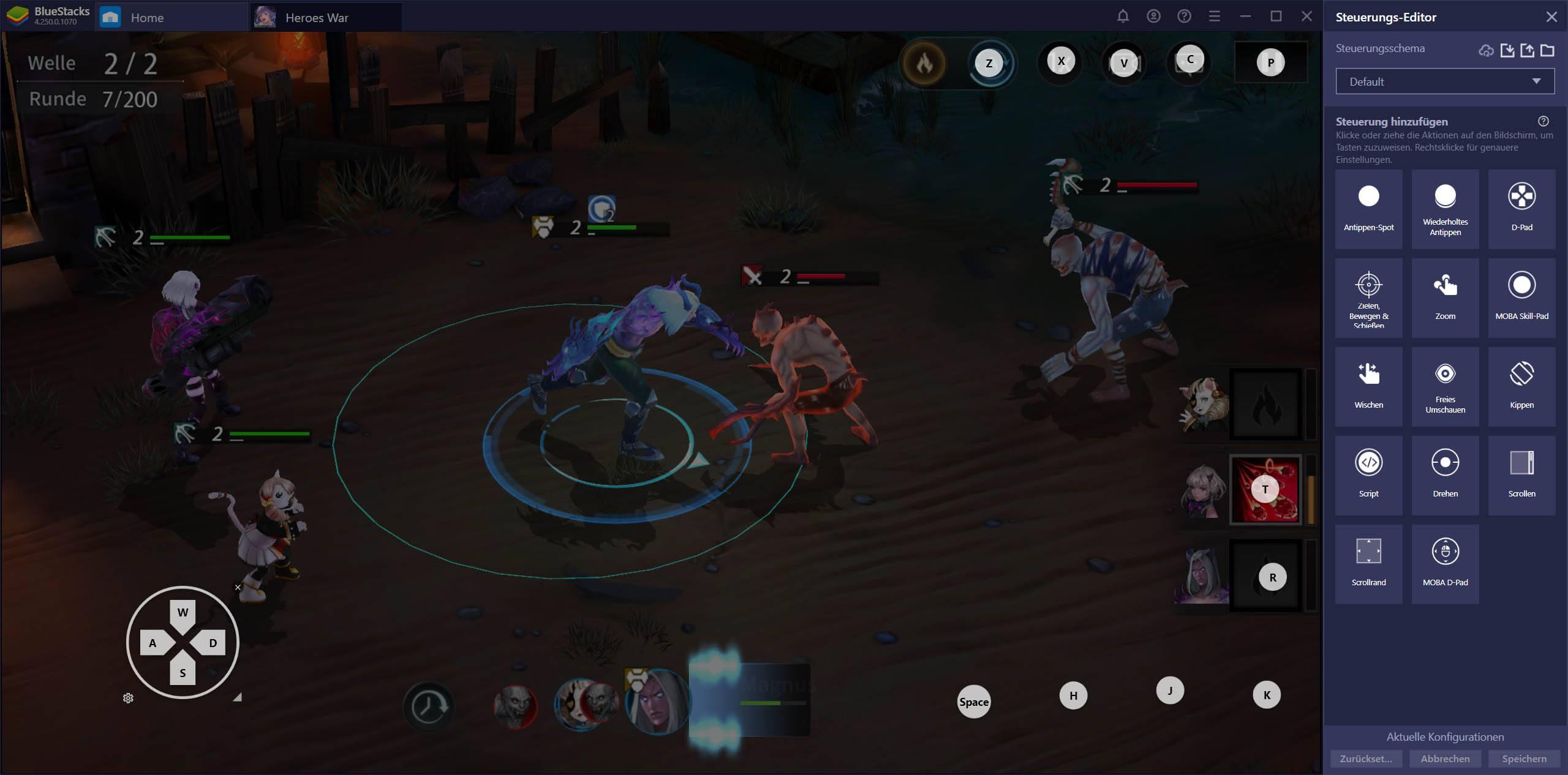Heroes War: Counterattack auf dem PC – Nutze BlueStacks für einfaches Rerolling und bessere Steuerelemente