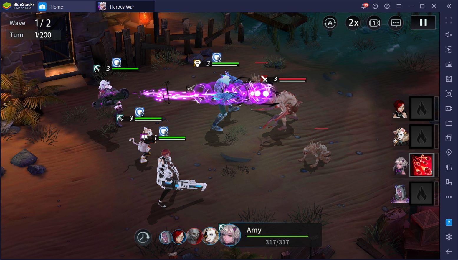 Heroes War: Counterattack en PC – Cómo Jugar el Juego de Estrategia de Com2Us Más Reciente en tu Computador