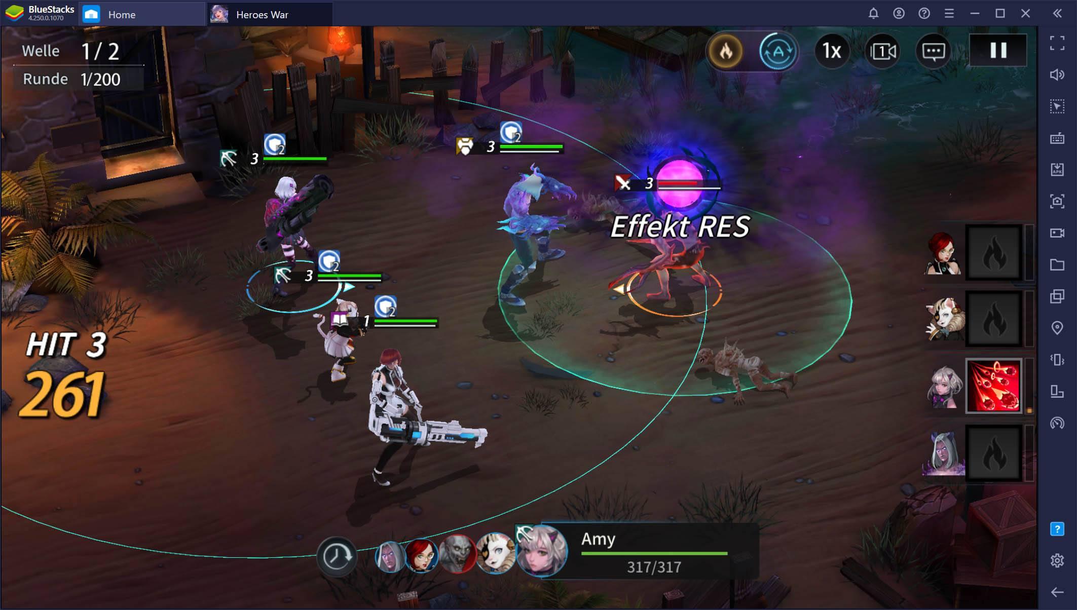 Heroes War: Counterattack auf dem PC – Reroll-Leitfaden und andere nützliche Tipps und Tricks