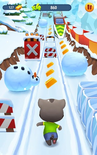 Играй Talking Tom Gold Run На ПК 8