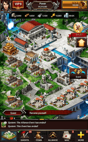 즐겨보세요 Game of War on PC 8