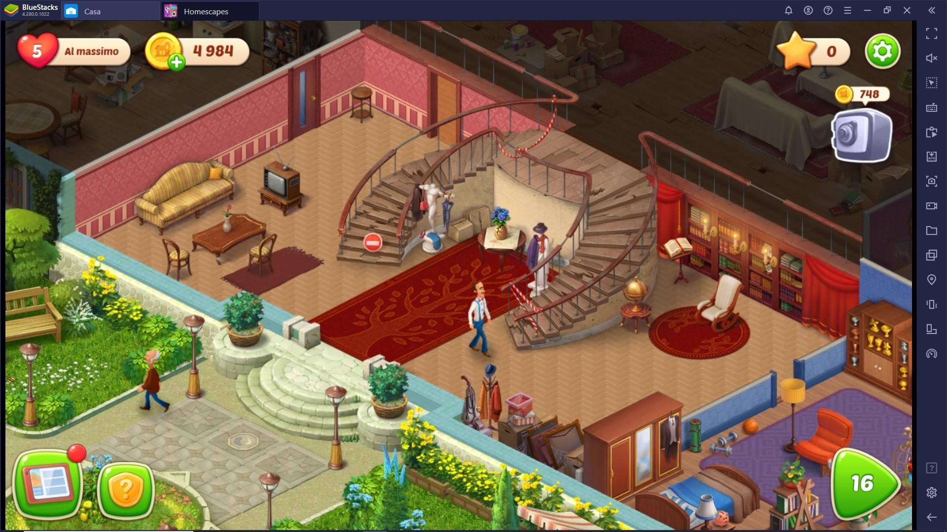 Il Gameplay di Homescapes – Il celebre Puzzle Game di Playrix
