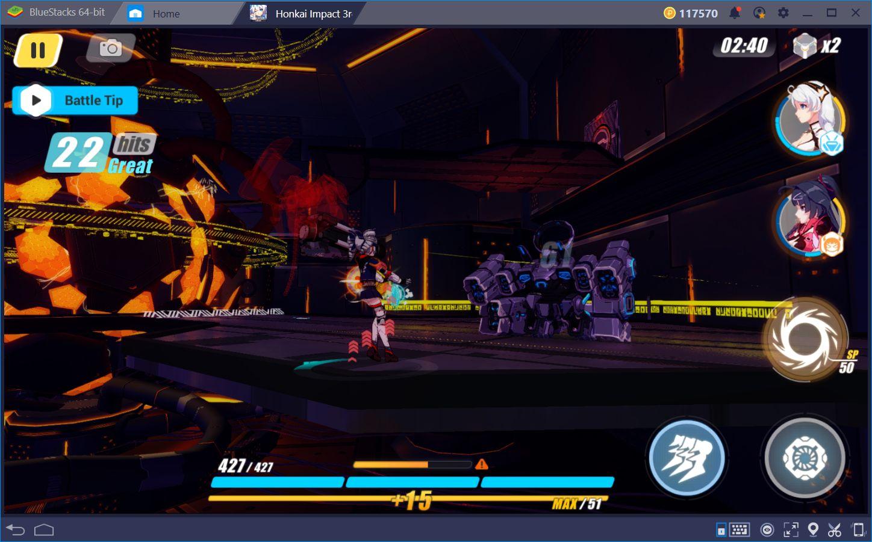 Tácticas de Combate para Honkai Impact 3rd