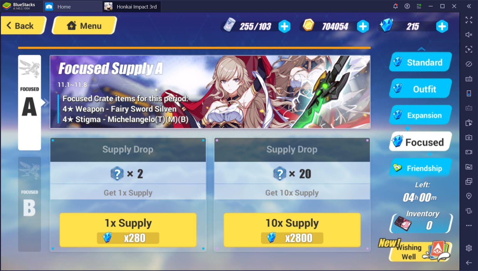Bilgisayardan Honkai Impact 3rd Oynamak: Oyun İçi Kaynaklar