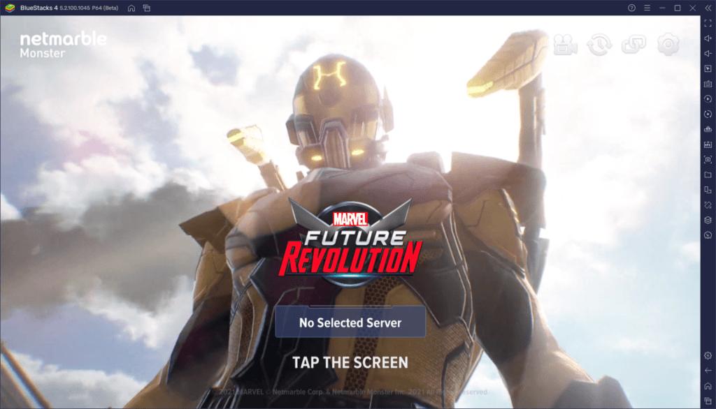 Wie man MARVEL Future Revolution auf dem PC mit BlueStacks spielt