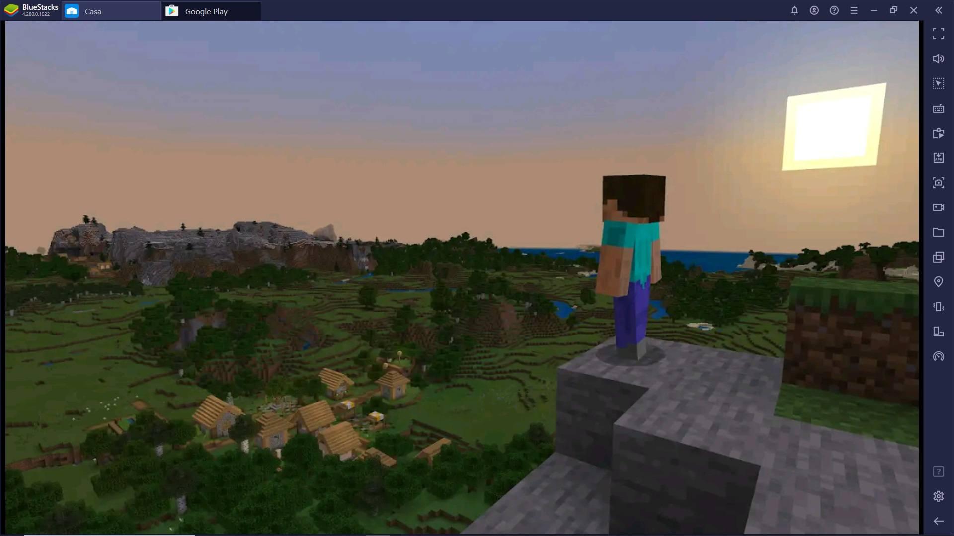 Gioca Minecraft su PC con BlueStacks