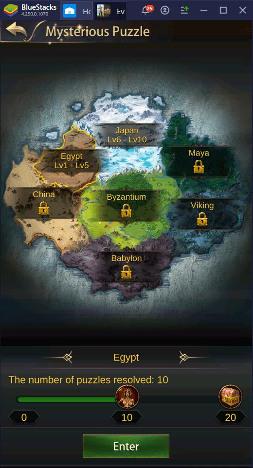 Hướng dẫn chơi Evony: The King's Return trên PC với BlueStacks