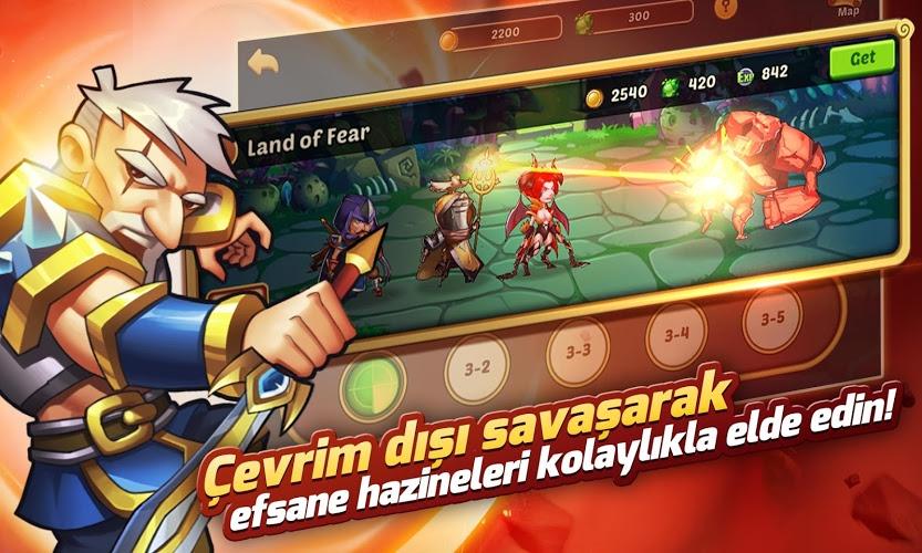 Idle Heroes  İndirin ve PC'de Oynayın 6