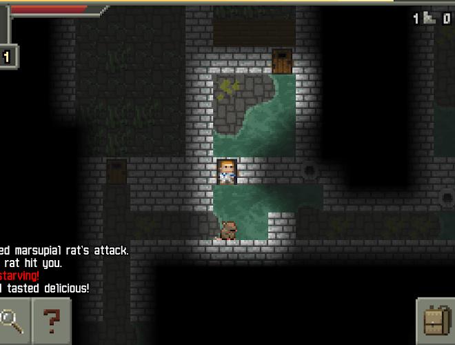 Играй Pixel Dungeon На ПК 11