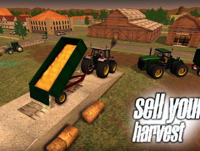 Play Farmer Sim 2015 on pc 4