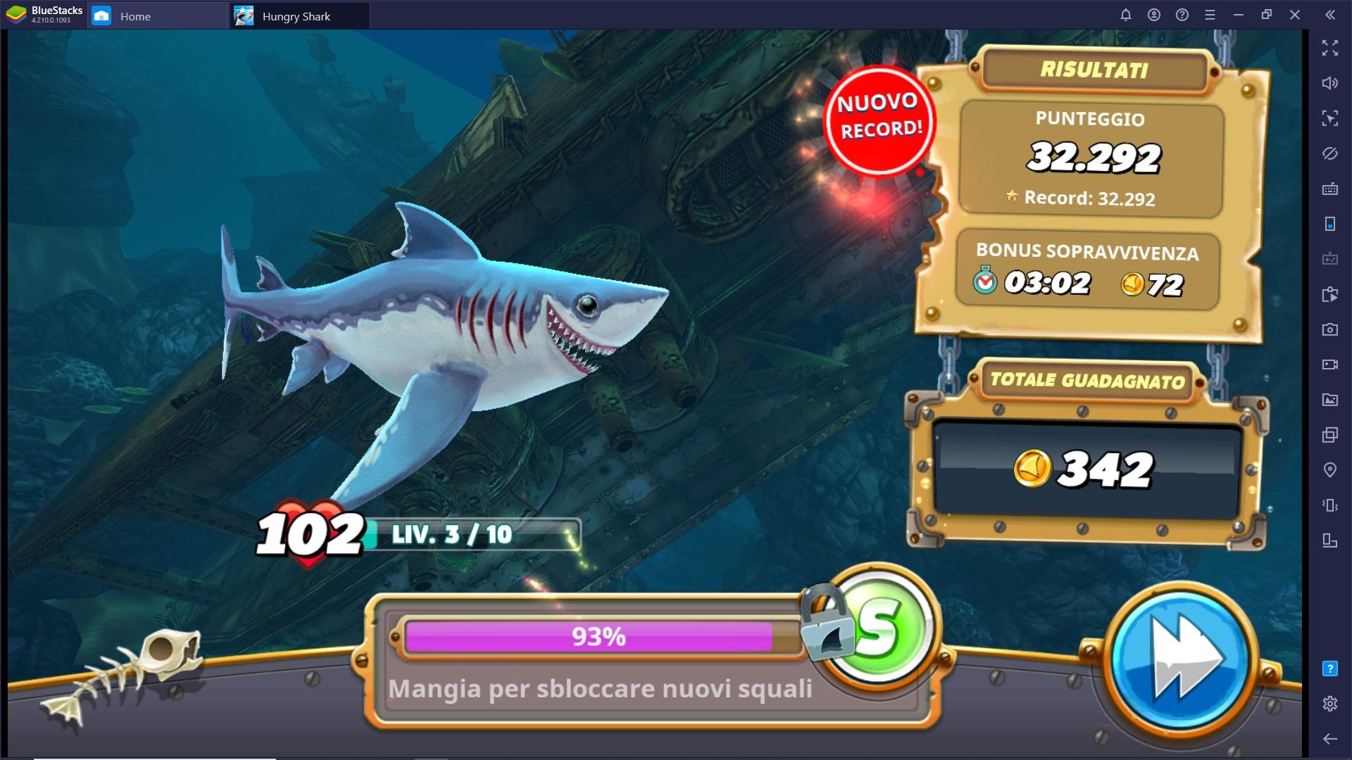La guida per i nuovi giocatori di Hungry Shark World