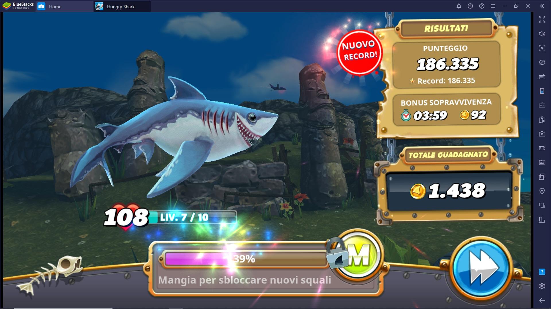 I migliori trucchi e consigli per Hungry Shark World
