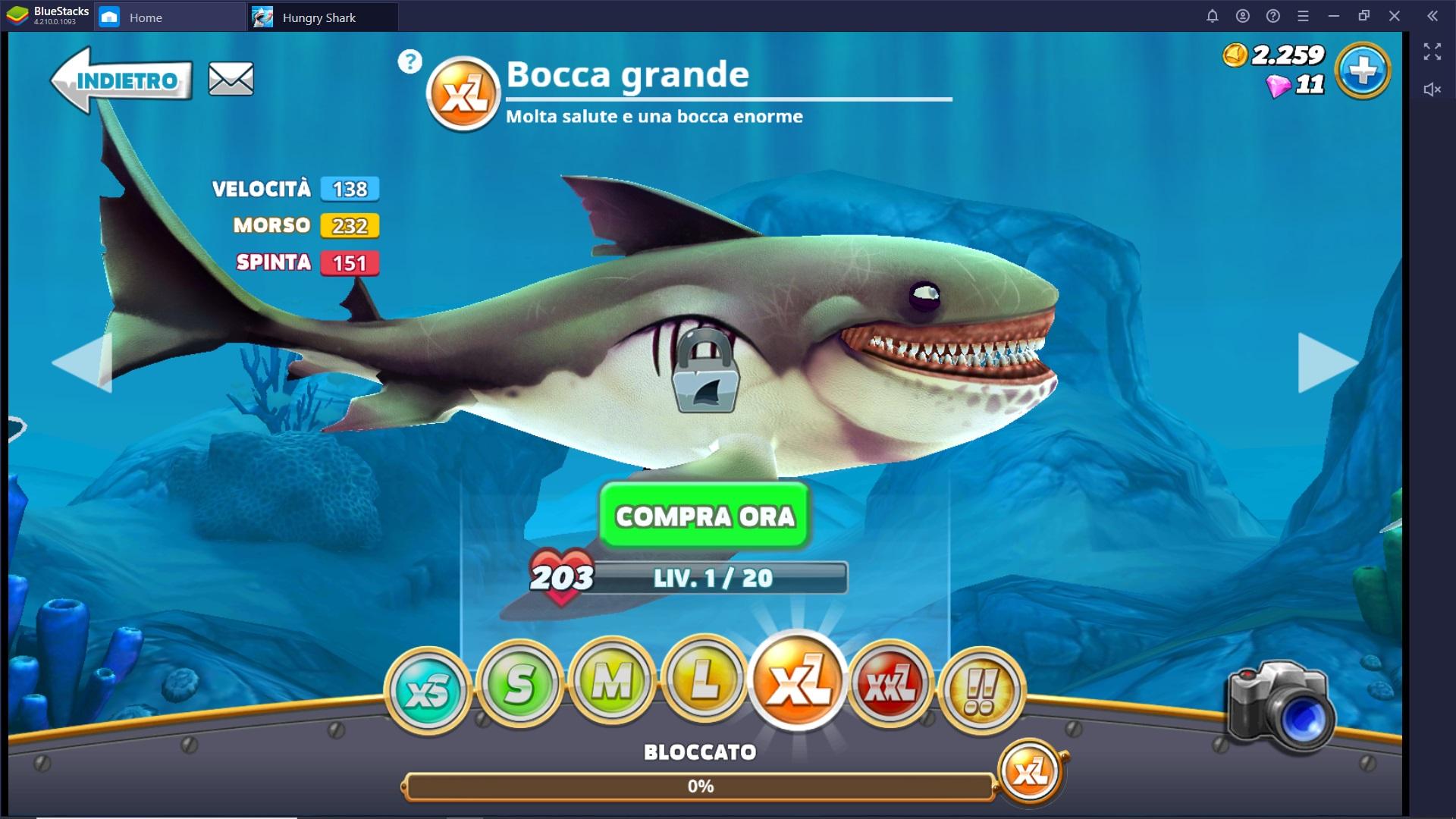 Guida agli Squali di Hungry Shark World – Come scegliere e differenze