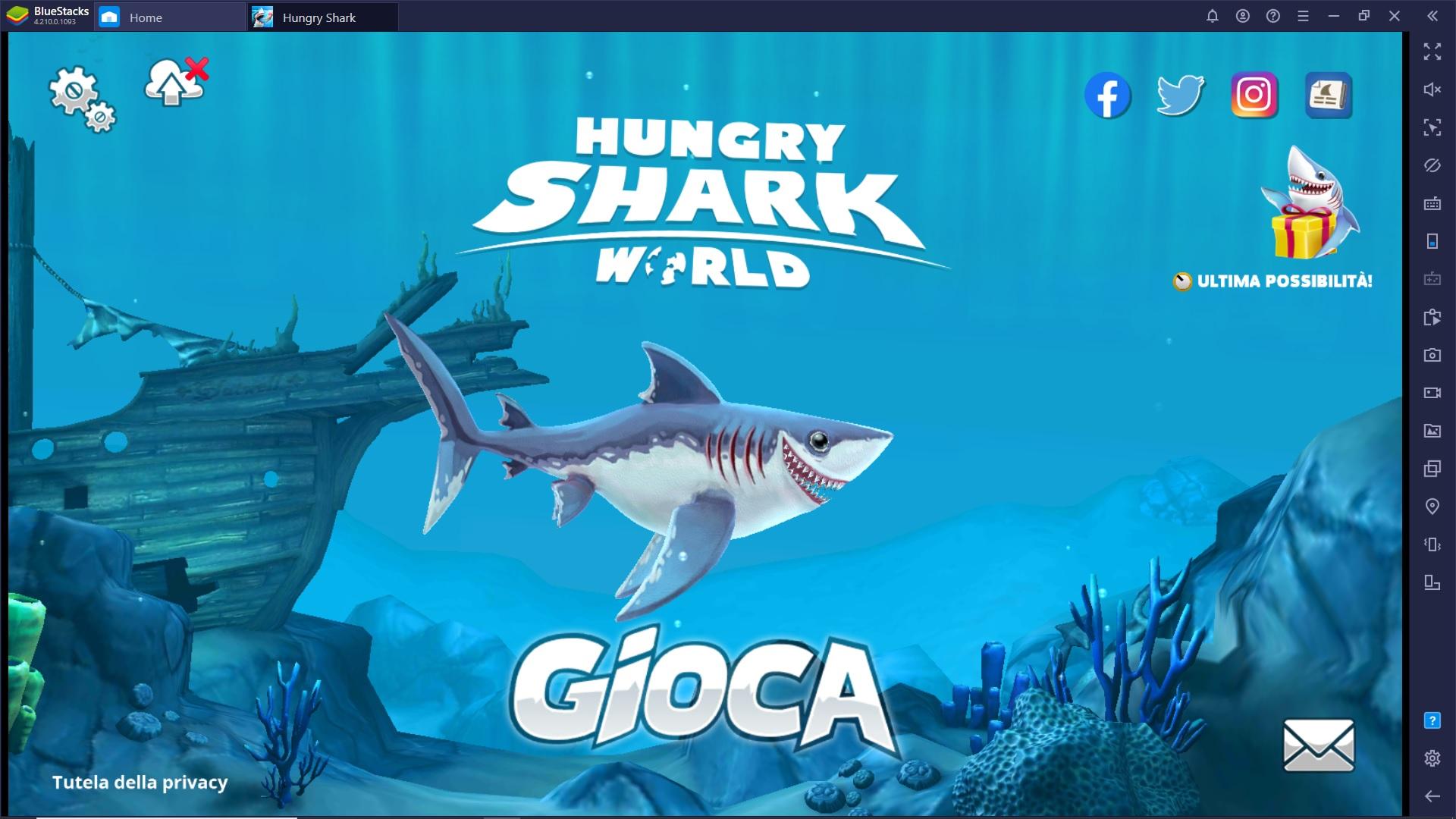 5 motivi per provare subito Hungry Shark World!