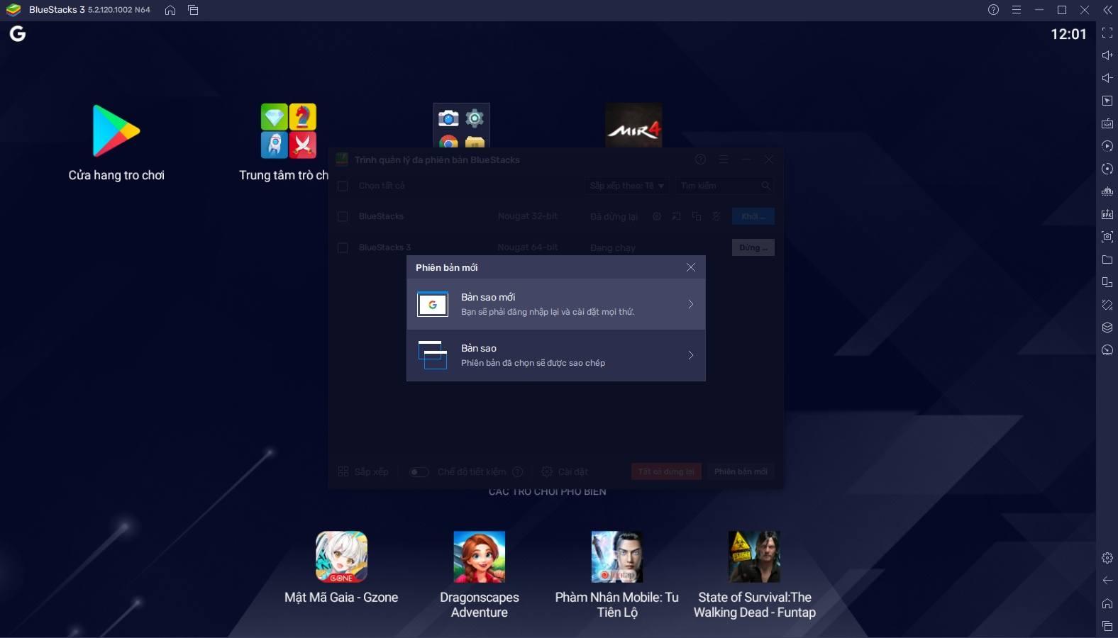 Hướng dẫn thiết lập chơi MIR4 trên PC bằng BlueStacks