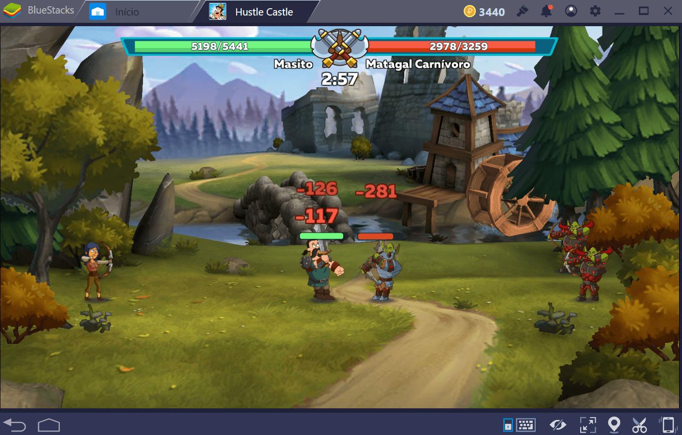 Guia de Batalha em Hustle Castle: Vida do Castelo