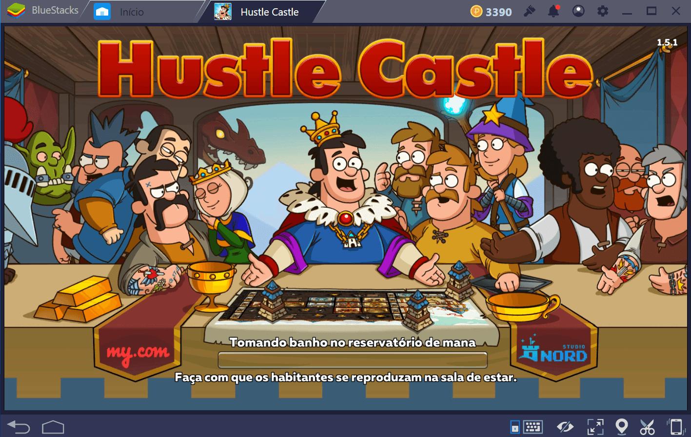 Guia para iniciantes em Hustle Castle: Vida do Castelo