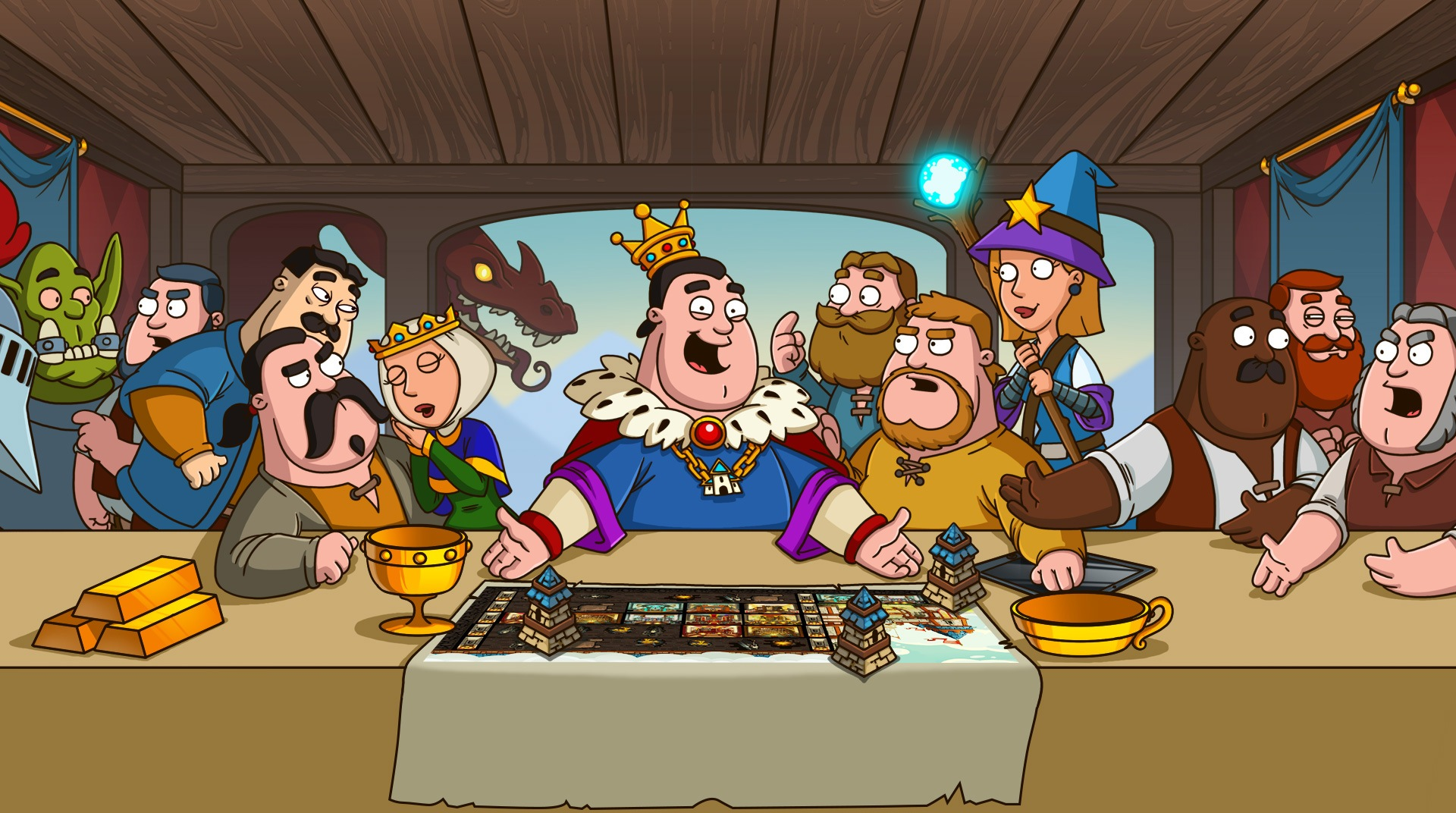 Hustle Castle- Fantasy Kingdom