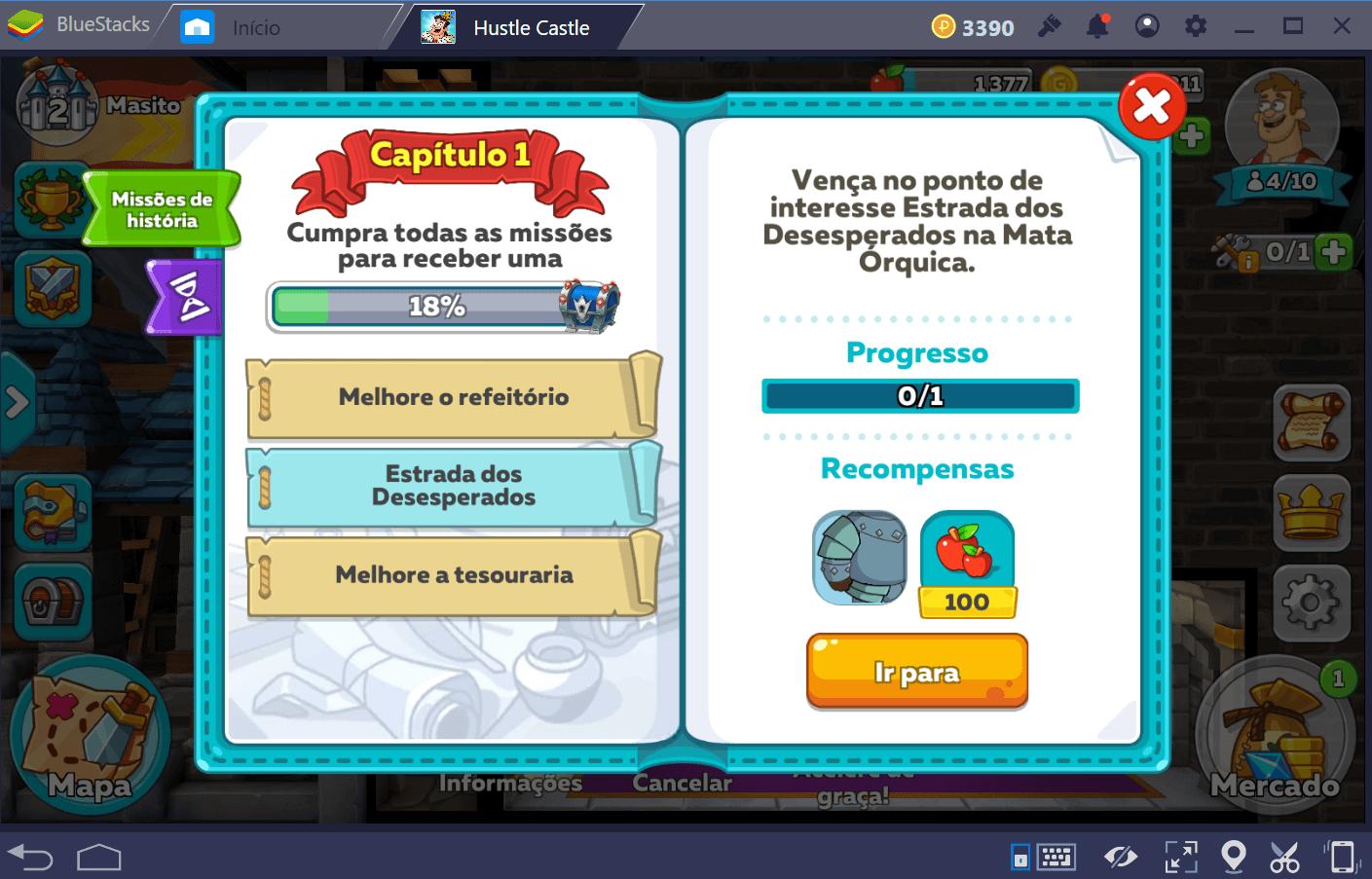 Como conseguir mais ouro em Hustle Castle: Vida do Castelo