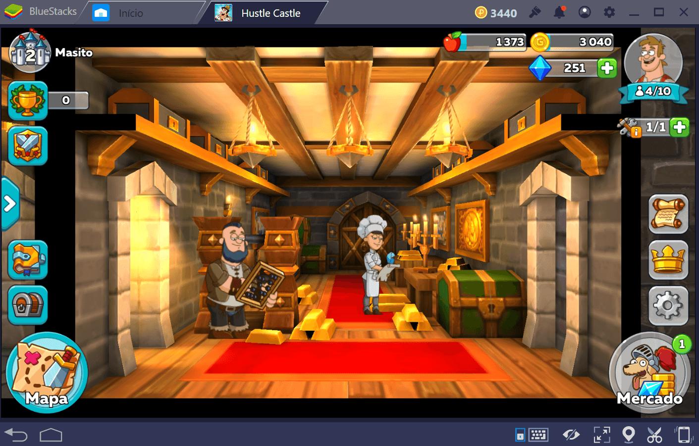 Como conquistar novos personagens em Hustle Castle: Vida do Castelo