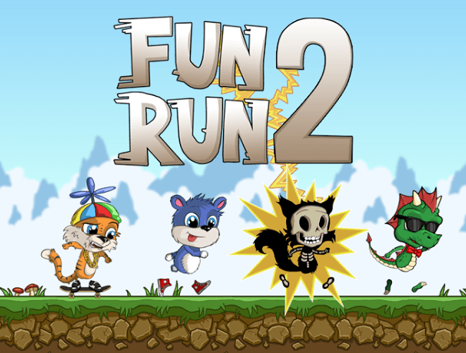 Play Fun Run 2 – Multiplayer Race on PC 2