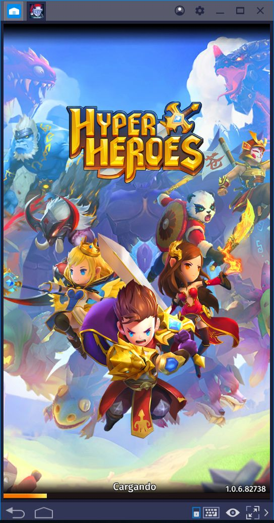 Todo Acerca de los Héroes en Hyper Heroes: Marble-Like RPG
