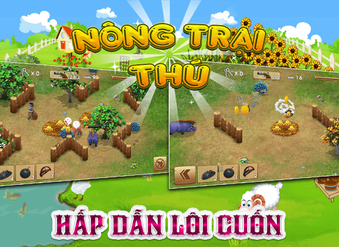 Chơi Nong Trai Thu – Dau Truong Thu on PC 13