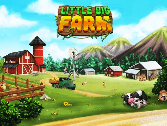 เล่น ฟาร์มขนาดใหญ่เล็ก ๆ น้อย ๆ on PC 12