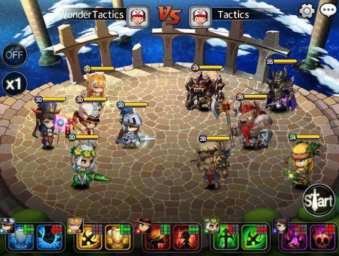 เล่น Wonder Tactics on PC 8