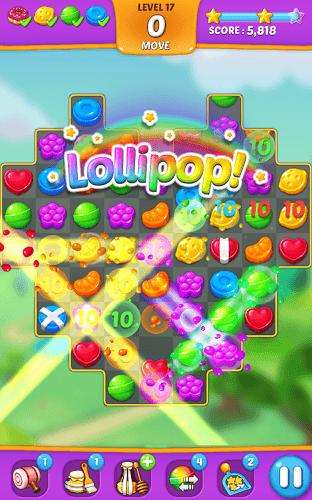 즐겨보세요 Lollipop: Sweet Taste Match 3 on PC 3