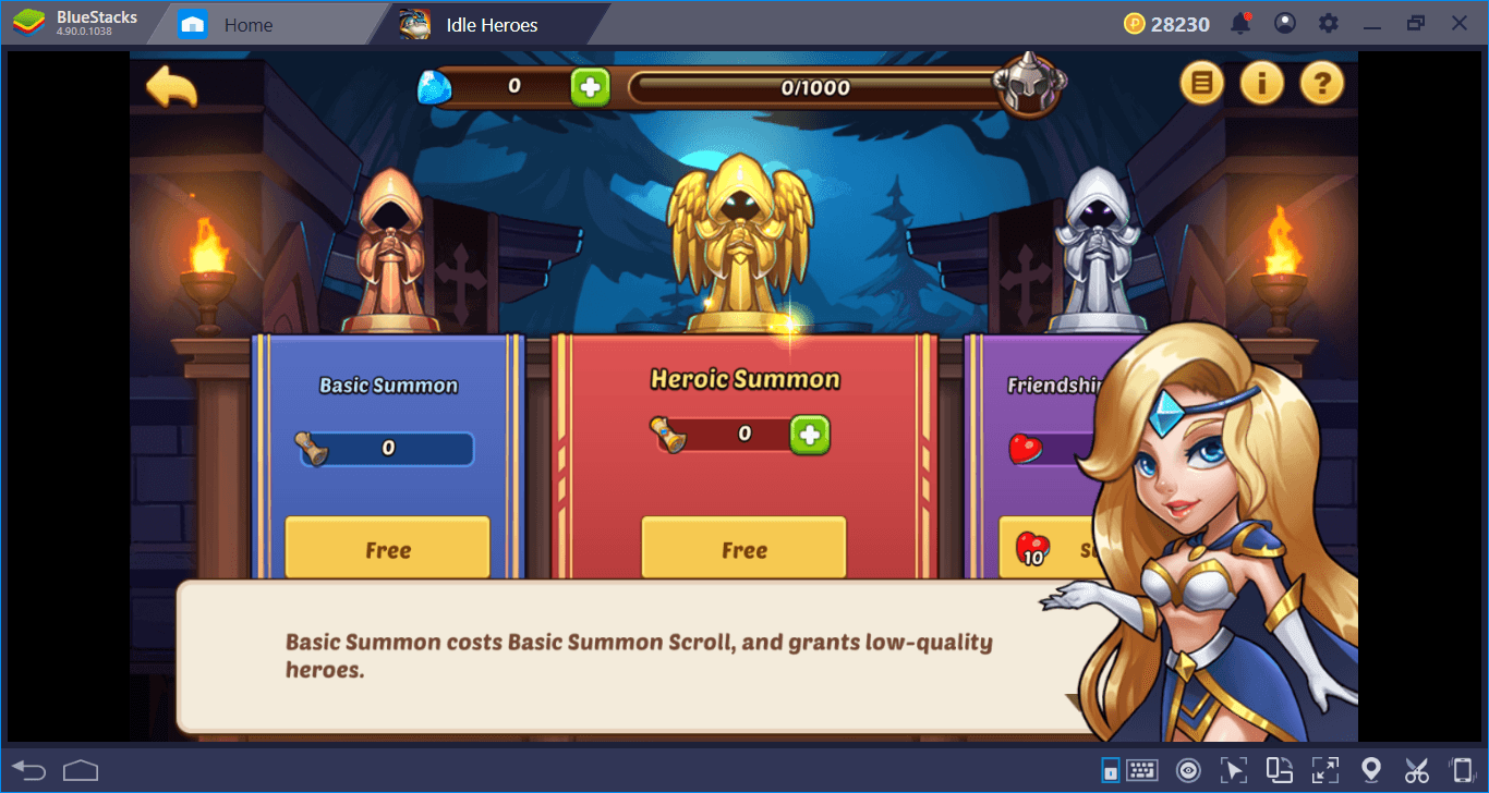 Turning Idle Heroes on PC Into Automatic Heroes With BlueStacks: The Setup Guide