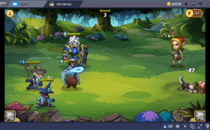 Download Idle Heroes on PC with BlueStacks