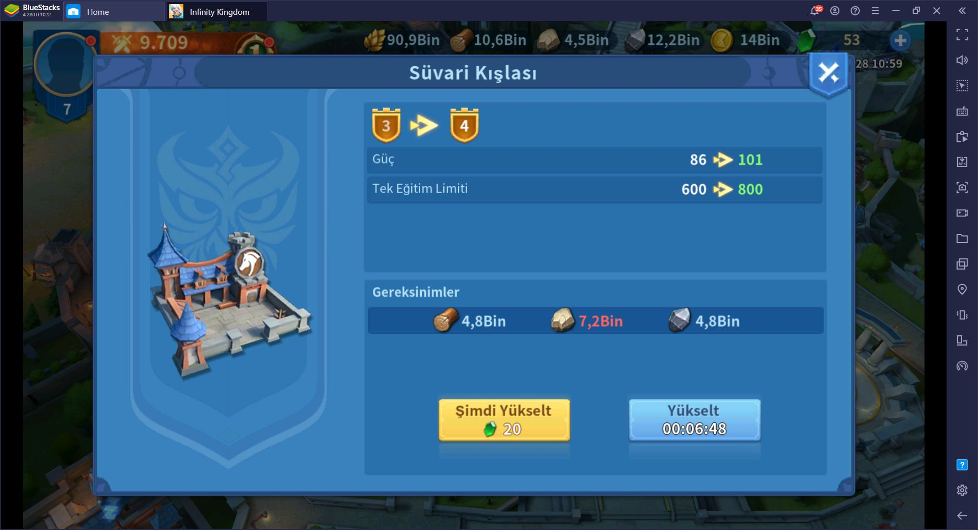 Infinity Kingdom Ordu ve Savaş Rehberi