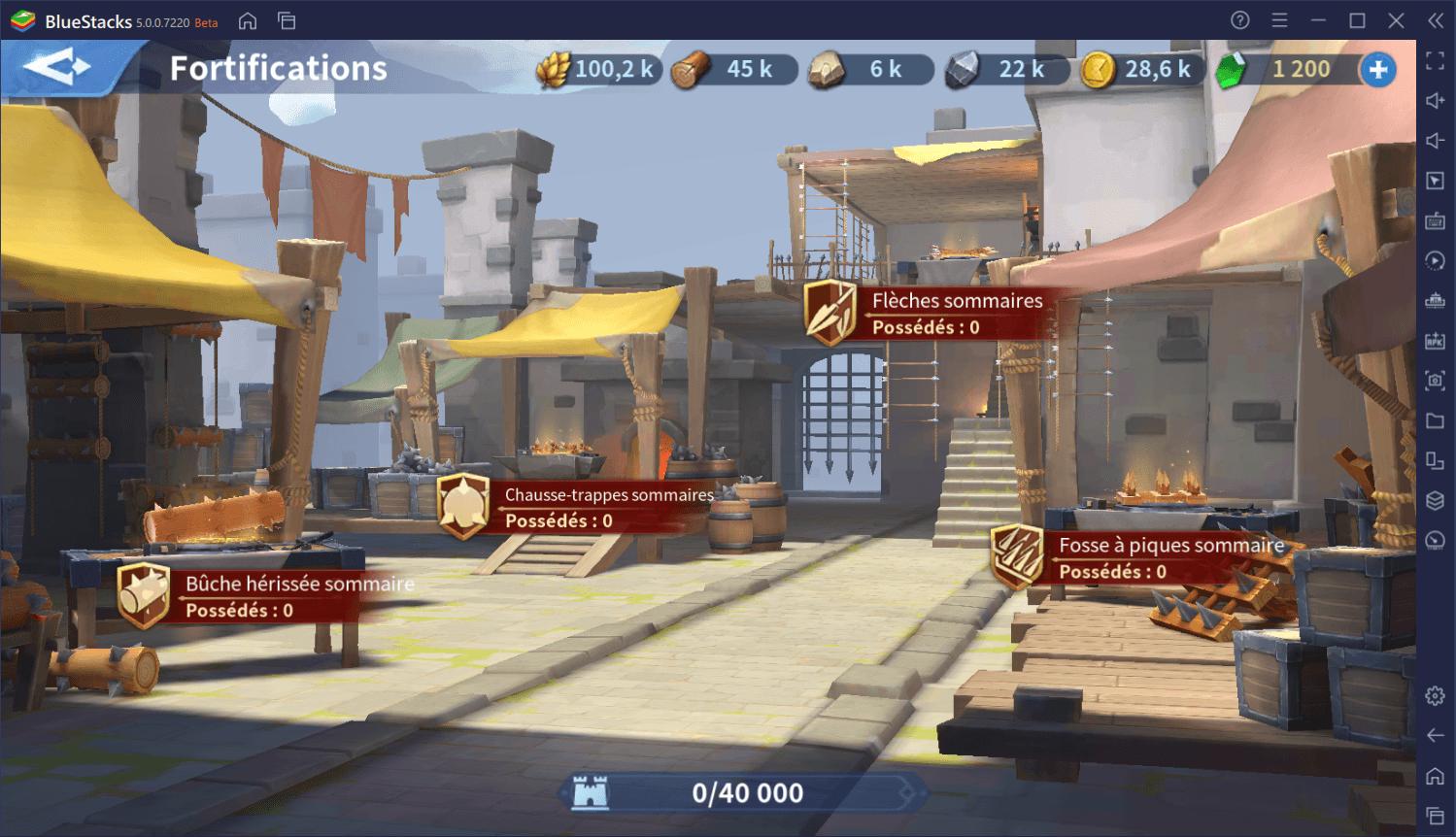 Lever une armée surpuissante dans Infinity Kingdom sur PC
