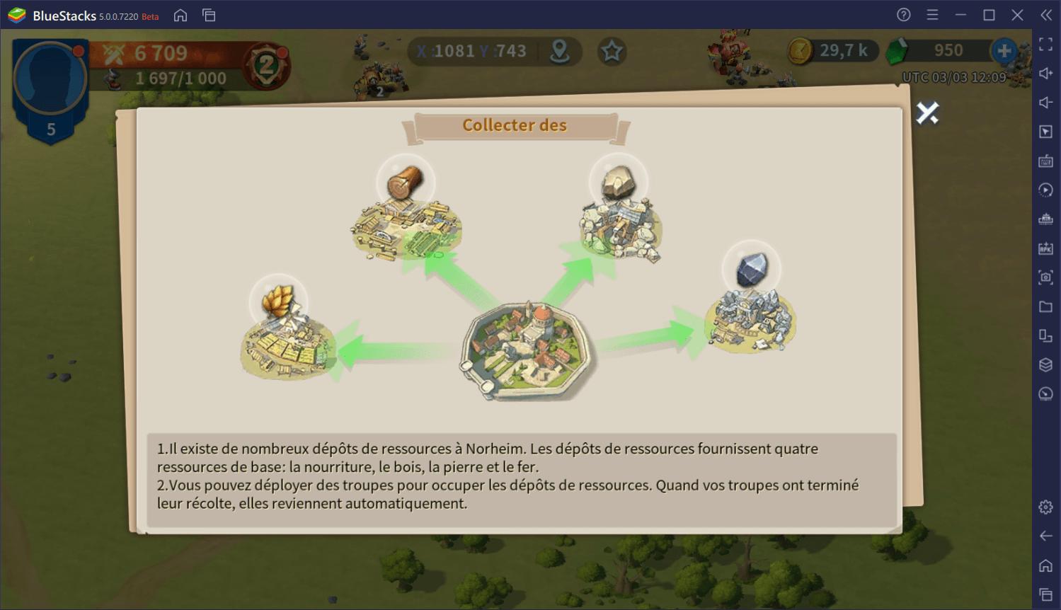 Comment obtenir plus de ressources dans Infinity Kingdom sur PC