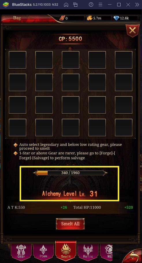 Как фармить ресурсы для улучшений в Immortal Legend: Vertical Idle RPG