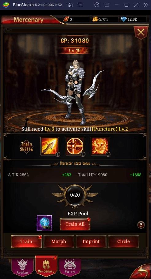 Стражи и Боссы — хитрости Immortal Legend: Vertical Idle RPG