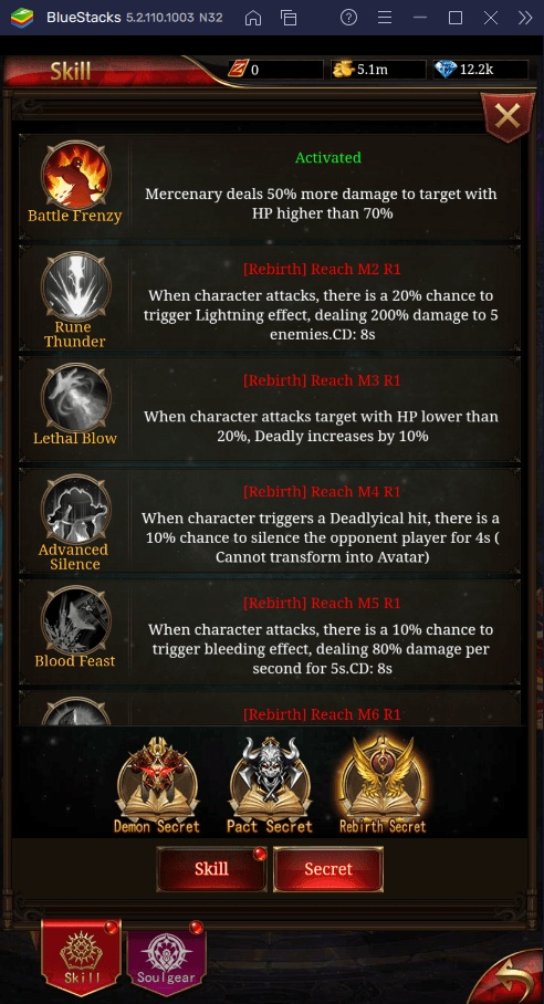 Как прокачать персонажа в Immortal Legend: Idle RPG