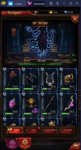 Guide pour Améliorer Votre Personnage dans Immortal Legend: Idle RPG