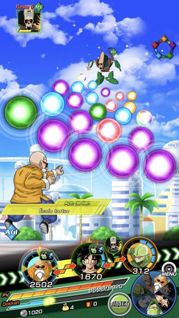 Dragon Ball Z Dokkan Battle Guide des personnages (invocations, équipe, éveil, entraînement, etc.)