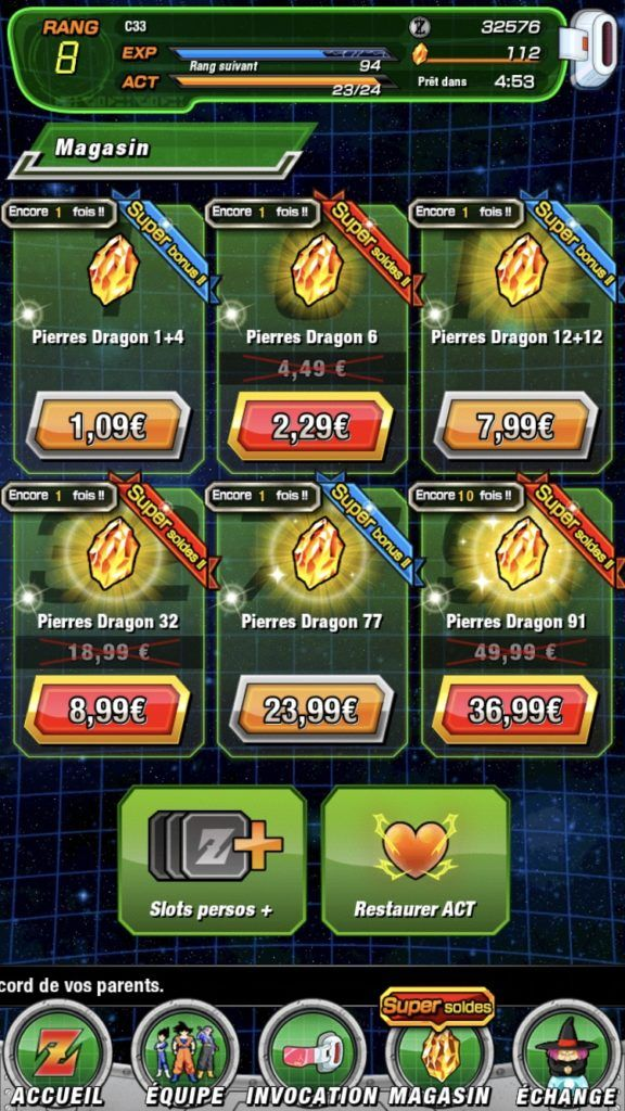 Guide pour débutants de Dragon Ball Z Dokkan Battle sur BlueStacks