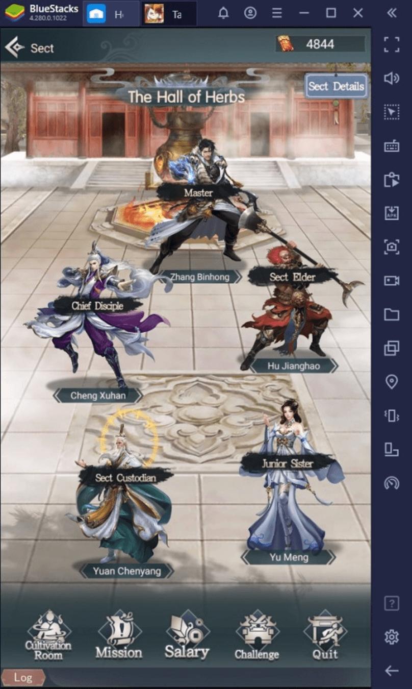 Le Guide du Débutant de BlueStacks dans Immortal Taoists