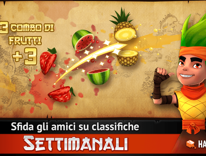 Gioca Fruit Ninja Free sul tuo PC 12