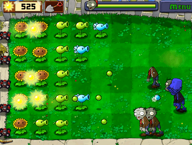 Spustit Plants vs Zombies on PC 7