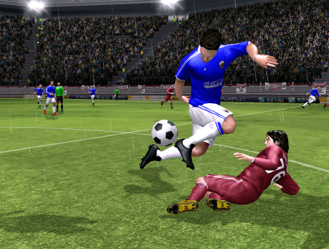 Speel Dream League Soccer on PC 8