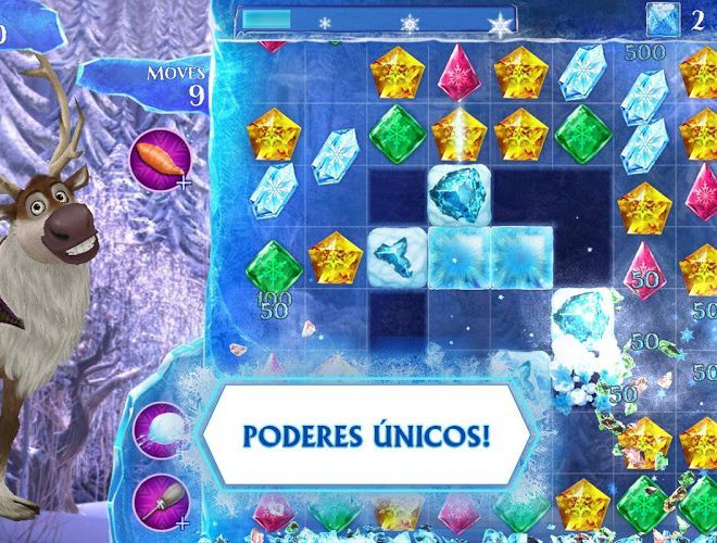 Jogue Frozen Free Fall para PC 10