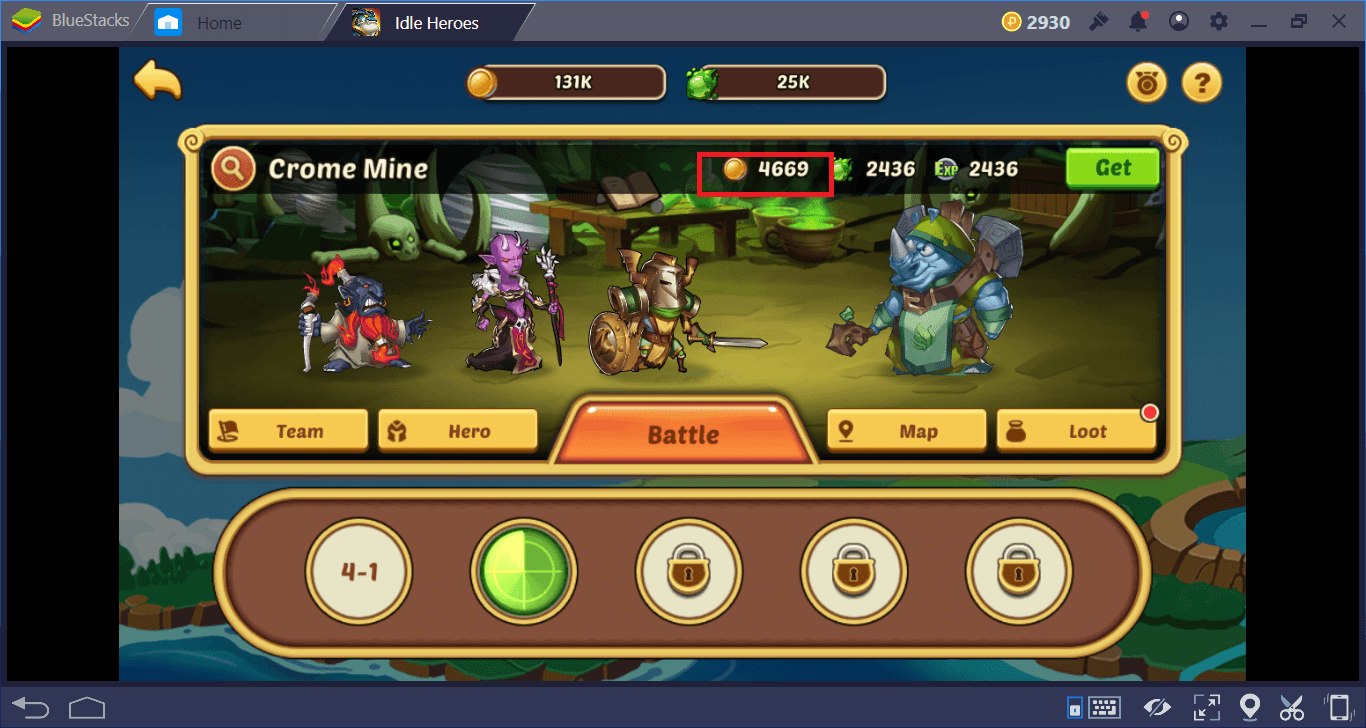 Idle Heroes on PC: How To Level Up Your Heroes Faster
