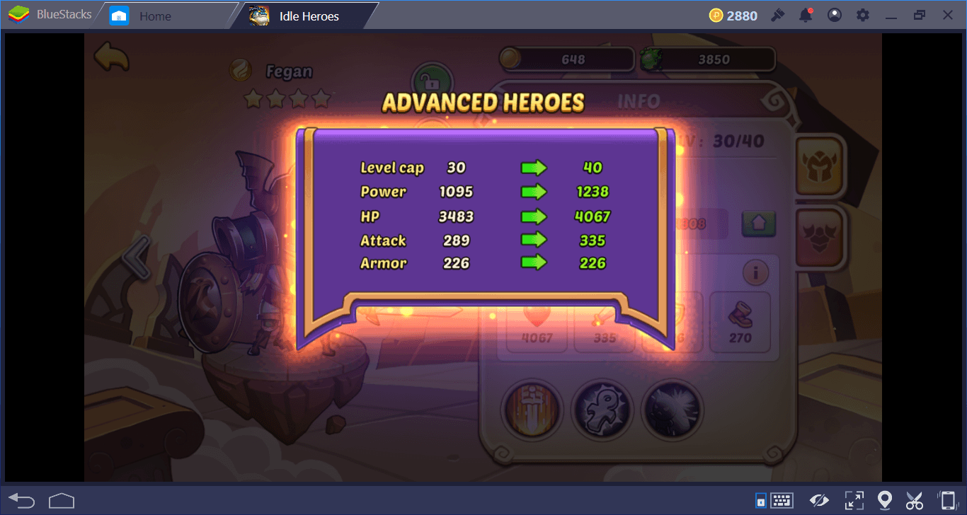 Idle Heroes على جهاز الكمبيوتر: دليل شامل للأبطال