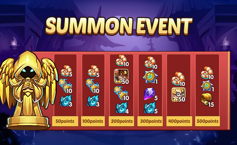 Idle Heroes – New Hero Andrea, New Summon Event, And More!